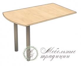 Стол приставной 1200х800х740
