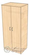 Шкаф для одежды 800х588х1875
