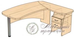 Стол рабочий 1869х1612х746