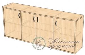 Шкаф комбинированный 2090х475х865