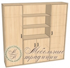 Шкаф комбинированный 2090х475х2037