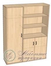 Шкаф комбинированный 1505х475х2037