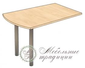Стол приставной 1200х800х750