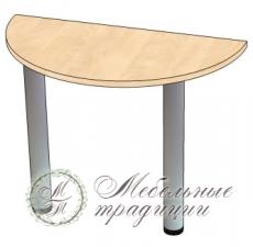 Стол приставной 1000х500х750