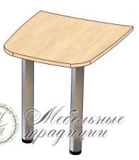 Стол приставной 1000х800х750