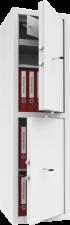 Шкафы металлические МШ 150/2Т